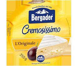 Queijo Bergader Brie Cremosissimo Peperocino 350 g