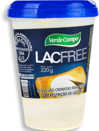 Requeijao Verde Campo Lacfree 220 g