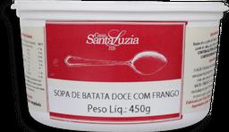 Sopa Batata Doce e Frango 450 g