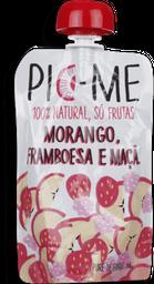 Squeeze De Frutas Morango,Framboesa E Maçã Pure Pic-Me 100 g