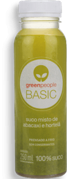 Suco Greenpeople Basic Abacaxi e Hortelã 250 mL