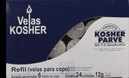 Vela Brilho Kosher 24 Und