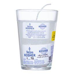 Vela Copo Kosher 230 g