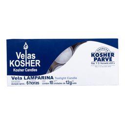 Vela Lamparina Kosher Brilho 10 Und