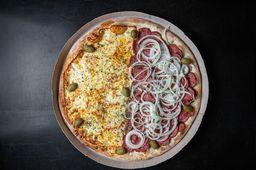 Combo Pizza Mussarela e Calabresa Coca-Cola Original