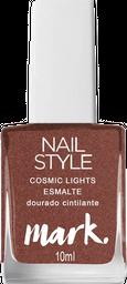 Mark. Nail Style Cosmic Lghts Esmalte Dourado Cintilante