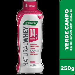 Iogurte Desnatado Verde Campo Natural Whey Morango 250 g