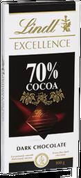 Chocolate Lindt Excellence 70% Cacau Dark 100 g