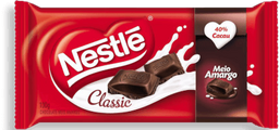 Chocolate Nestlé Classic Meio Amargo 90 g