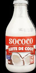 Leite De Coco Socôco Light Vidro 200 mL