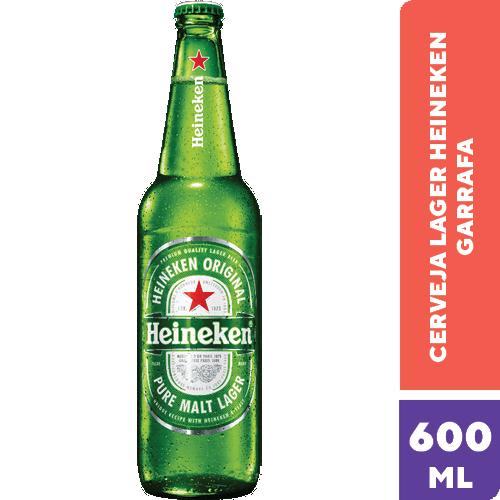 Cerveja Heineken  - Não Retornável