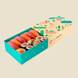 Zc - Petite Box Salmão E Atum - 14 Unidades