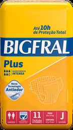 leve 3 - Fralda Bigfral J Plus Pacote Com 11 Und