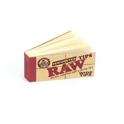 Piteira Raw Perforated Tips Wide
