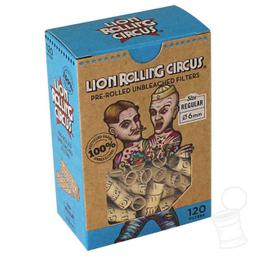 Piteira Pre Enrolada Unbleached Lion Circus