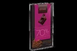 Tablete de Chocolate Amargo Recheado 70% Cacau - 90g