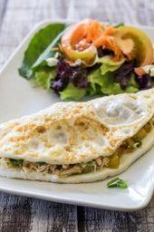 Omelete de Claras Cruzeiro