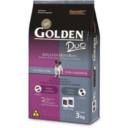 Ração Golden Cães Duo Salmão 1 Kg