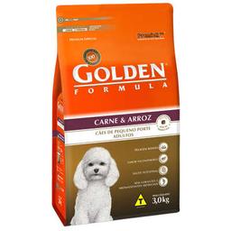 Ração Golden Cães Carne 3 Kg
