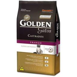 Ração Golden Gato Castrado 3 Kg