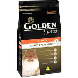 Ração Golden Gato Castrado Salmão 1 Kg