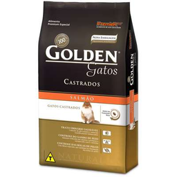 Ração Golden Gato Castrado Salmão 3 Kg