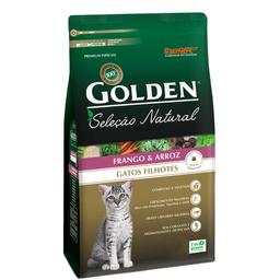 Ração Golden Seleção Natural Gato Filhotes 1,0 Kg