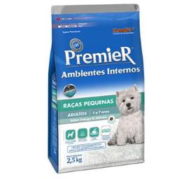 Ração Premier Ambientes Internos Cães 2,5 Kg