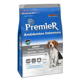 Ração Premier Ambientes Internos Cães Light 2,5 Kg