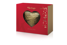 Caixa Coração de Chocolate ao Leite - 130g