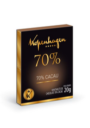 Tabletes de Chocolate 70% Cacau - 20g