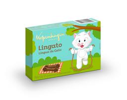 Lingua de Gato Lingato - 85g