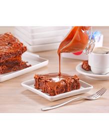 Brownie com Doce de Leite Artesanal