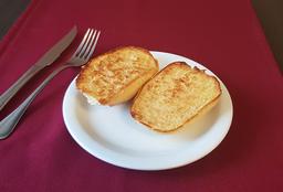 Pão Francês Com Manteiga Na Chapa