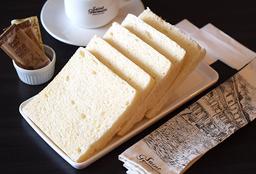 Pão Caseiro Sem Casca Fatiado - 200g 10 fatias
