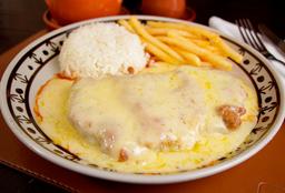 Filet à Parmegiana - Serve 1 Pessoa