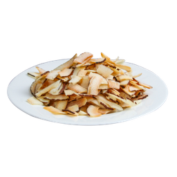 Chips De Coco Queimado Coco Queimado Em Fatias