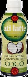 Iogurte Com Polpa De Coco Ati Latte 900 g