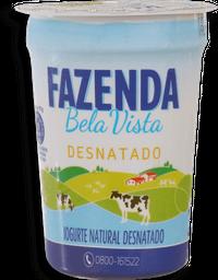 Iogurte Natural Desnatado Fazenda Bela Vista 170 g