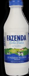Leite Pasteurizado Tipo A Integral Fazenda Bela Vista 1 L