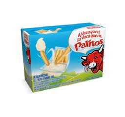 Queijo Processado A Vaca Que Ri Palitos Cx. Com 4 Unid.