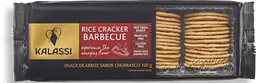 Biscoito De Arroz Cracker Barbecue Kalassi 100 g