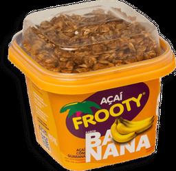 Polpa De Açaí Com Guaraná Frooty Sabor Banana 200 g