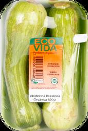 Abobrinha Brasileira Orgânica Eco Vida 500 g