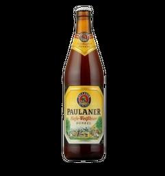 Cerveja Paulaner Hefe-Weibbier Dunkel 500 mL