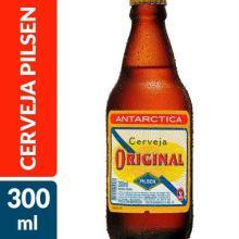 Cerveja Pilsen Antarctica Original 300 mL
