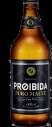 Cerveja Proibida Puro Malte Extra 600 mL