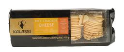 Biscoito De Arroz Crackers Cheese Kalassi 100 g