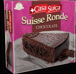 Bolo Suiço Swiss Ronde De Chocolate Casa Suiça 500 g