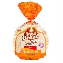 Pão Sirio Médio Pita Bread Com 6 Unidades 320 g